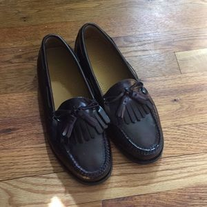 Cole Haan tassel dress loafers nwot